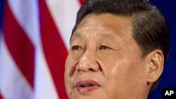 China's Vice President Xi Jinping in Washington, February 15, 2012.