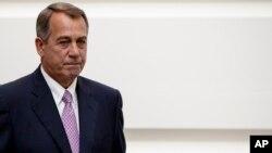 Chủ tịch Hạ viện John Boehner nói ông sẽ không xúc tiến cuộc biểu quyết tăng giới hạn nợ chính phủ mà không có các cuộc đàm phán để giải quyết các mối quan ngại của đảng Cộng Hòa về công chi
