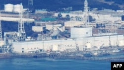 Hình nhà máy điện hạt nhân Fukushima Daiichi chụp từ trên không, ngày 17/3/2011