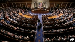 Benjamin Netanyahu devant le Congrès américain (AP)