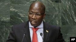 Domingos Simões Pereira, presidente do PAIGC e primeiro-ministro da Guiné-Bissau