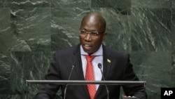 Domingos Simões Pereira, primeiro-ministro da Guiné-Bissau, na Assembleia Geral da ONU