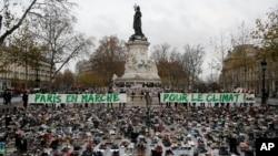 میدان رپوبلیک پاریس - ۲۹ نوامبر ۲۰۱۵