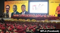 Dirigentes do MPLA em silêncio