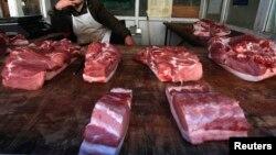 中國今年5月的通貨膨脹創過去一年多來新高,豬肉價格上漲18.2%。