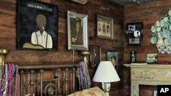 A room at the Shack Up Inn