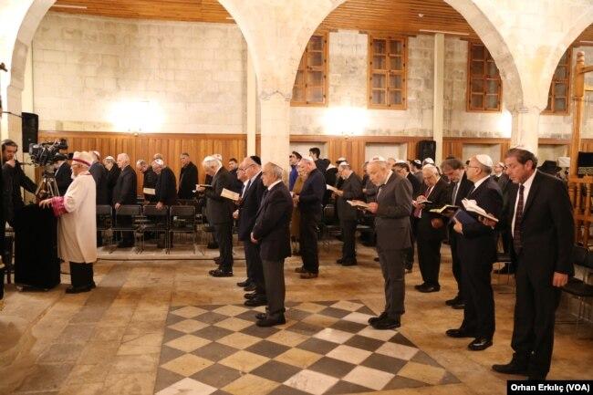 Gaziantep Sinagogu'u 40 Yıl Sonra Hanuka Bayramında Tekrar İbadete Açıldı