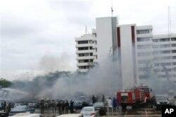 Attentat du 16 juin à Abuja, au QG de la Police fédérale
