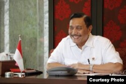 Menteri Koordinator bidang Kemaritiman dan Investasi Luhut Binsar Pandjaitan (foto: courtesy).