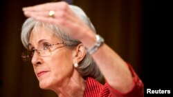 Kathleen Sebelius, Secretaria de Salud de EE.UU. anunció la nueva fórmula para que ninguna mujer se quede por fuera de la cobertura.