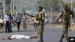 Umutekano muke mu Burundi