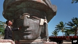 波多黎各的哥伦布雕像