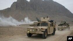 Các binh sĩ lực lượng Đặc nhiệm Mỹ tại Afghanistan.