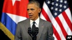 Lên tiếng tại La Habana, Tổng Thống Hoa Kỳ Barack Obama nói: 'Chúng tôi sẽ làm tất cả những gì cần làm cho nước bạn, Bỉ, để mang những kẻ chịu trách nhiệm ra trước công lý.'