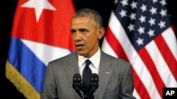 نخستین سفر یک رئیس جمهور برحال امریکا به کیوبا پس از ۹۰ سال