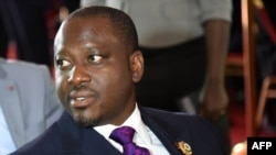 Guillaume Soro, le président de l'Assemblée nationale ivoirienne