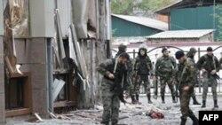 Нападение на чеченский парламент