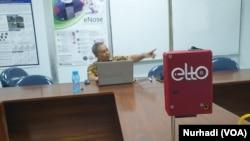 Elto diklaim sebagai electronic tongue terkecil di dunia yang ada saat ini. (Foto: Nurhadi)