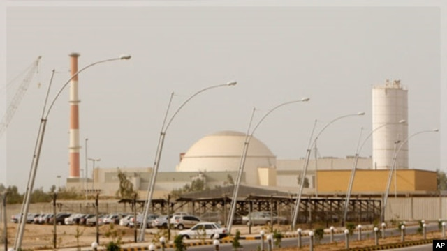 Iran's nuclear power plant at Bushehr (file photo)