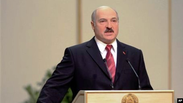 Belarus' President Aleksander Lukashenko (file photo)