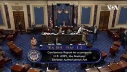 特朗普否決《2021國防預算法案》