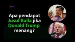 Apa Pendapat Jusuf Kalla jika Trump Menang?