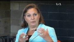 """Нуланд назвала """"демонів"""" України: корупція, помилки уряду, бюрократія. Відео"""