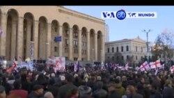 Manchetes Mundo 3 Dezembro 2018: Manifestaçōes anti-eleiçōes na Georgia