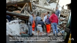 Deadly Earthquake Hits Central Italy