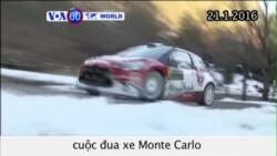 Các tay đua xe chuẩn bị cho cuộc đua Monte Carlo (VOA60)
