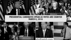 Candidates speak out on the campaign trail, March 8, 2016