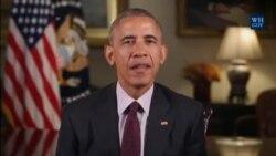 Ijambo rya Perezida Barack Obama ryanyuma kumunsi w'umuganura