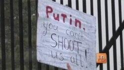 В Вашингтоне прошел митинг памяти Бориса Немцова