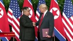 Trump ca ngợi thượng đỉnh Mỹ-Triều giữa những nghi vấn
