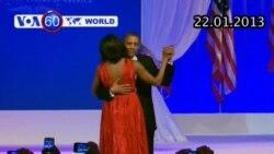 Vợ chồng TT Obama khiêu vũ trong dạ tiệc nhậm chức (VOA60)