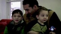 在美叙利亚难民担忧国内亲人