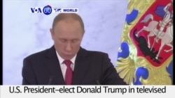 VOA60 World PM - Putin: Russia 'Ready to Cooperate' with Trump Administration