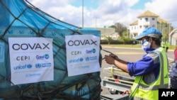 ARHIVA - Kutije sa vakcinama koje su na Madagaskaru isporučene u okviru programa Kovaks