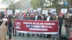 Vatan Partisi'nden Fransa Büyükelçiliği Önünde Protesto