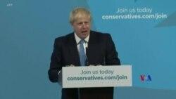 2019-07-23 美國之音視頻新聞: 約翰遜獲選成為英國保守黨黨領預計接任首相