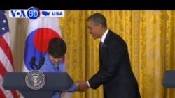 Tổng thống Mỹ và Nam Triều Tiên hội kiến