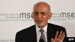 아슈라프 가니 현 아프가니스탄 대통령이 지난 15일 독일에서 열린 제56회 뮌헨안보회의에 참석했다.