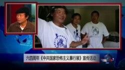 VOA连线:六四周年《中共国家恐怖主义暴行展》宣传活动
