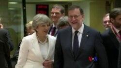 """英國首相稱脫歐後將給歐盟居民""""公平""""待遇(粵語)"""