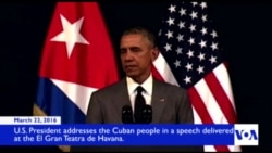 In Cuba, Obama Says He Will Bury 'Last Remnant' of Cold War