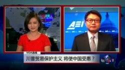 VOA连线:川普贸易保护主义,将使中国受惠?