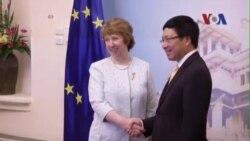 EU hy vọng sớm chung quyết đàm phán tự do mậu dịch với VN