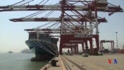 中國3月份出口額大幅上升