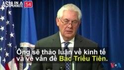 Ngoại trưởng Hoa Kỳ sắp công du châu Á (VOA60 châu Á)