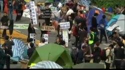 Cảnh sát Hong Kong bắt người biểu tình không chịu giải tán